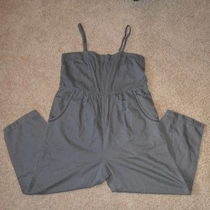 Postmark Anthro Romper/Jumpsuit Gray Womens XL